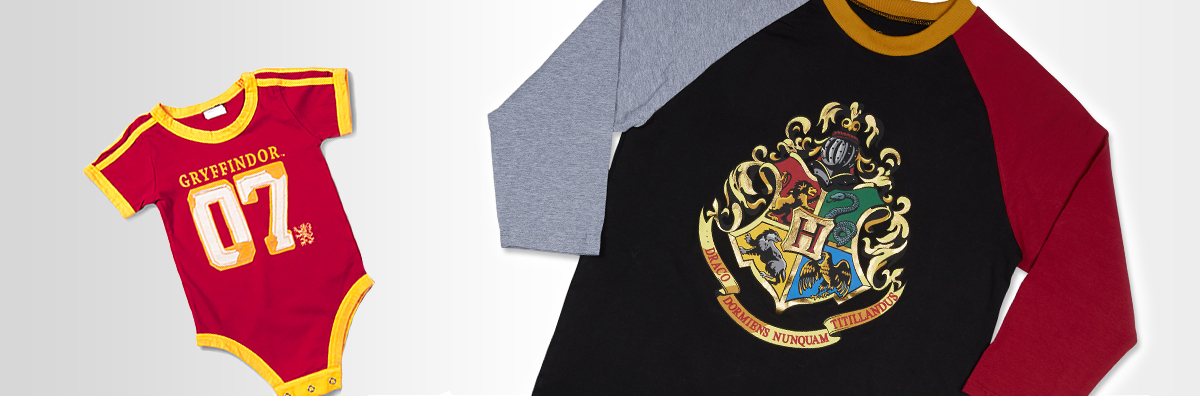 Gryffindor™ 07 Infant Bodysuit, Hogwarts™ Adult Raglan T-Shirt
