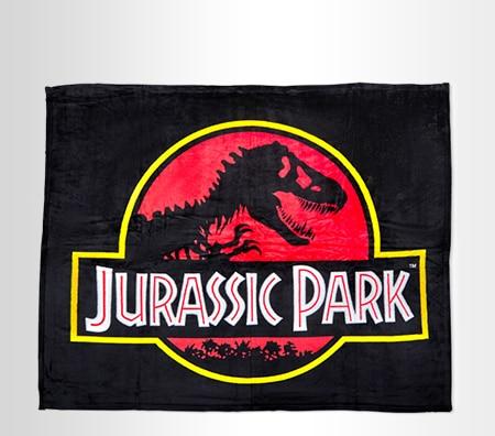 Jurassic Park Throw Blanket