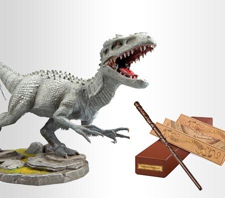 Jurassic World Indominus Rex Statue, Interactive Hermione Granger™ Wand