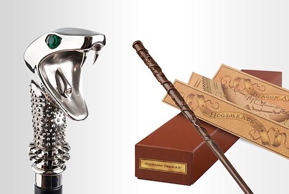 Lucius Malfoy Walking Stick Replica, Interactive Hermione Granger™ Wand