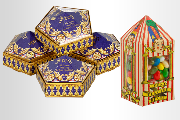 Chocolate Frogs™ 4 Pack, Bertie Bott's Every-Flavour Beans™