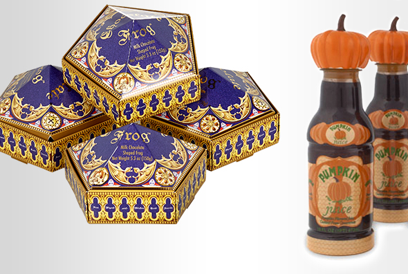 Chocolate Frogs™ 4 Pack, Pumpkin Juice 4 pack