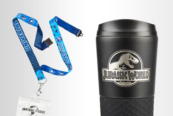 Jurassic World Lanyard, Jurassic World Travel Tumbler