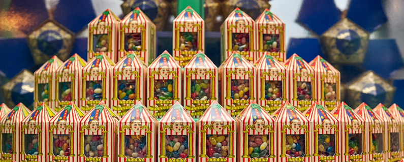 Chocolate Frogs™, Bertie Bott's Every-Flavour Beans™