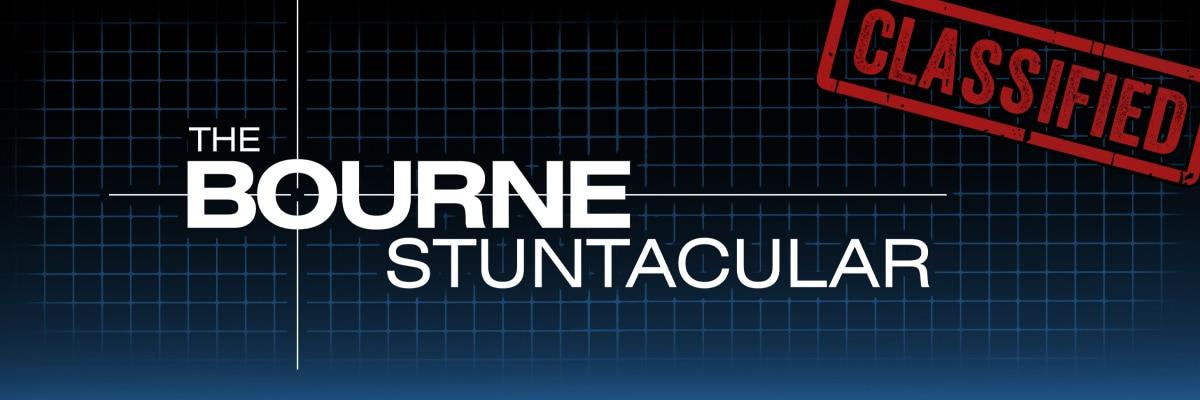 The Bourne Stuntacular Merchandise
