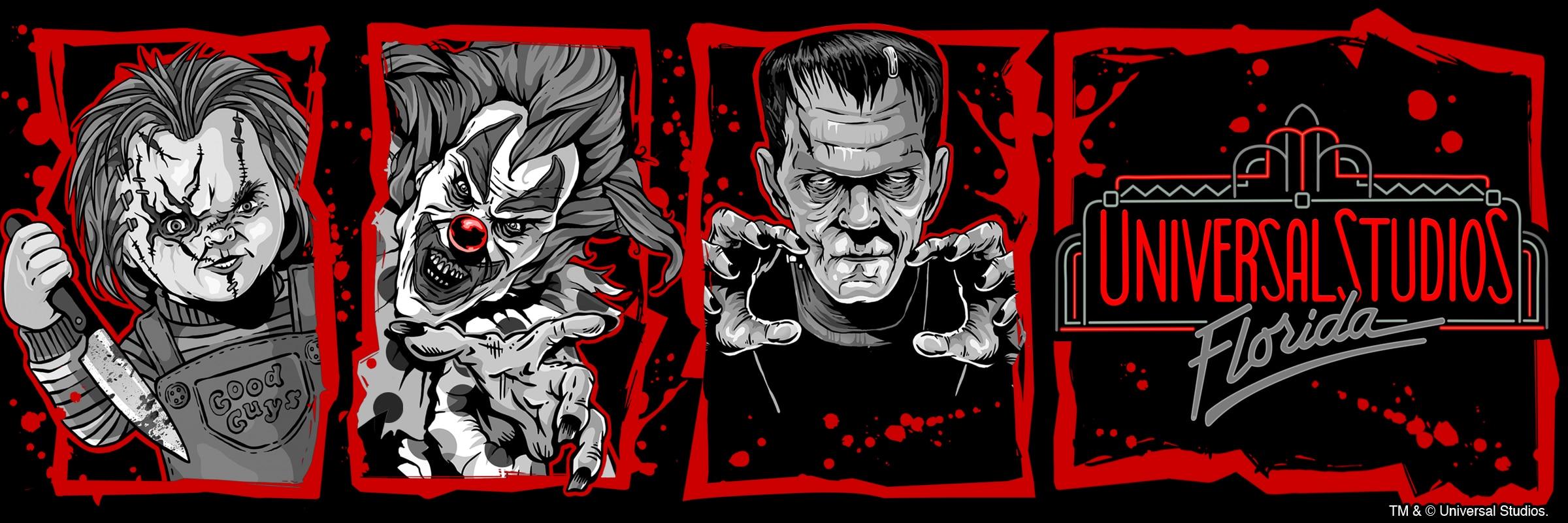 Halloween Horror Nights Retro Marquee Merchandise