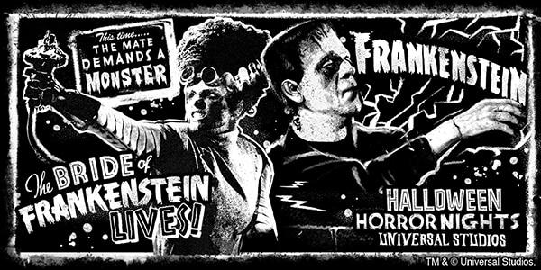 Halloween Horror Nights 2021 Bride of Frankenstein Merchandise