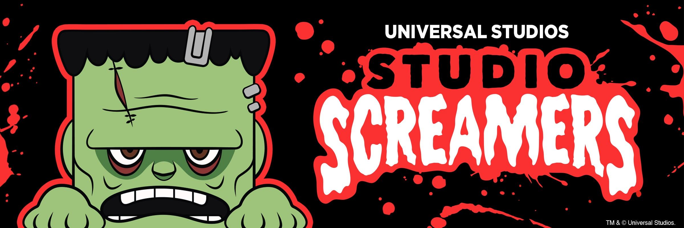 Halloween Horror Nights 2021 Studio Screamers Merchandise