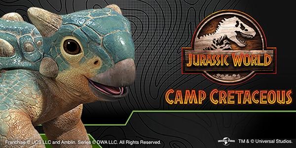 Camp Cretaceous Merchandise