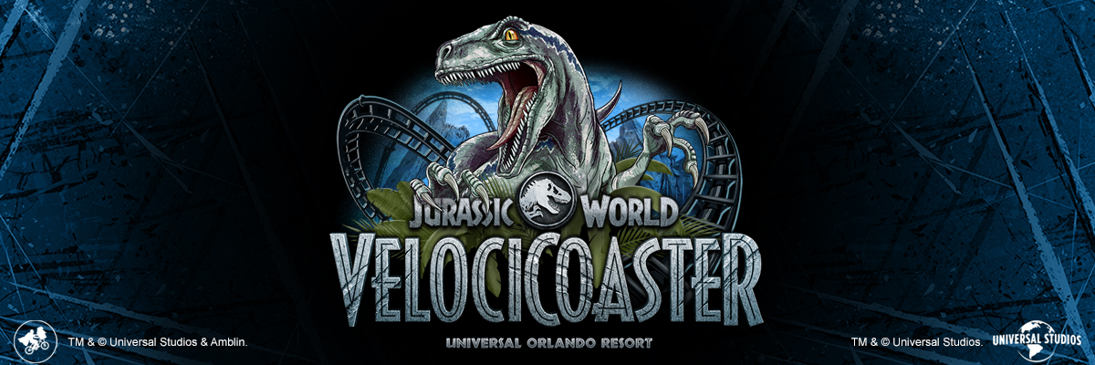 Jurassic World VelociCoaster Merchandise