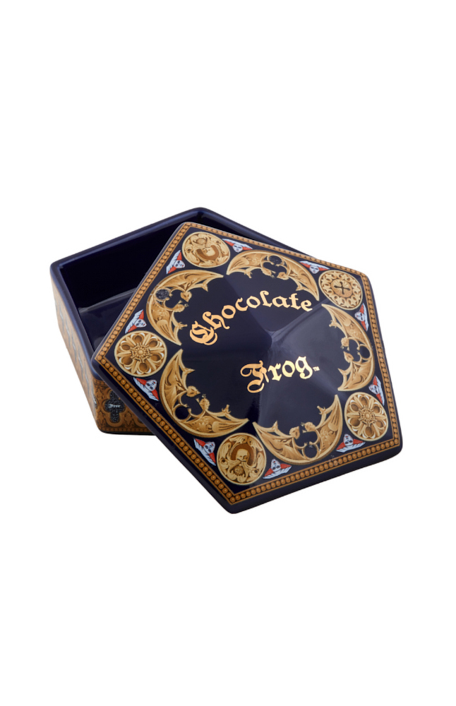 Image for Chocolate Frog™ Ceramic Trinket Box from UNIVERSAL ORLANDO