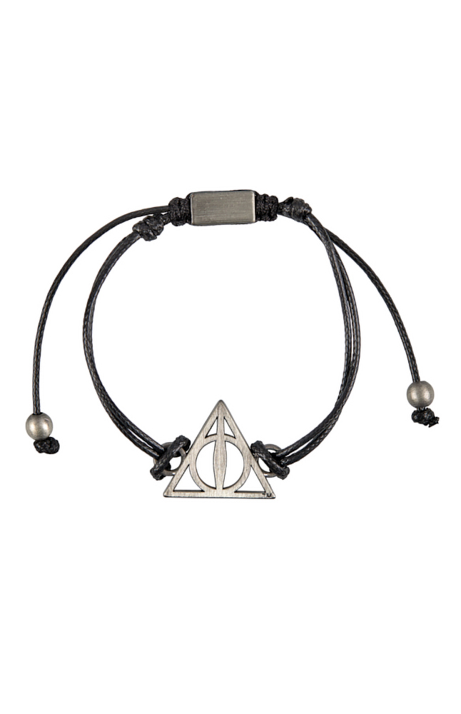 Breakaway Buckle for Keys or Badge Durable Black Nylon Deathly Hallows Always Lanyard Keychain and ID Holder with Detachable Novelty Necklace