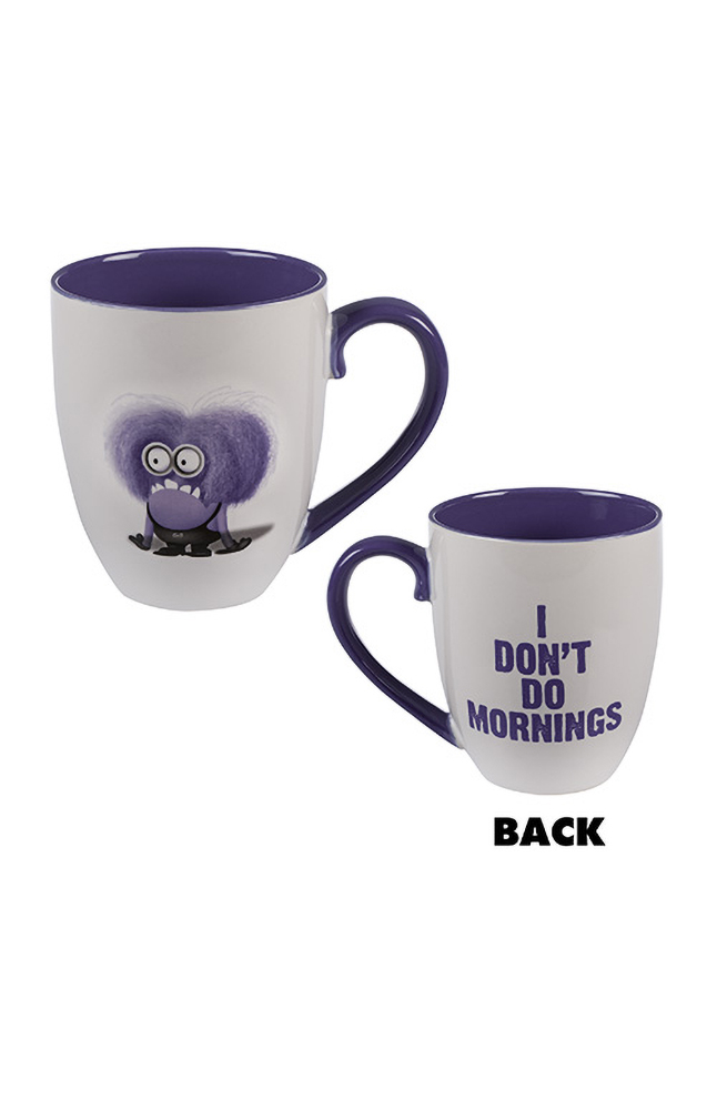 Image for Despicable Me I Don't Do Mornings Mug from UNIVERSAL ORLANDO