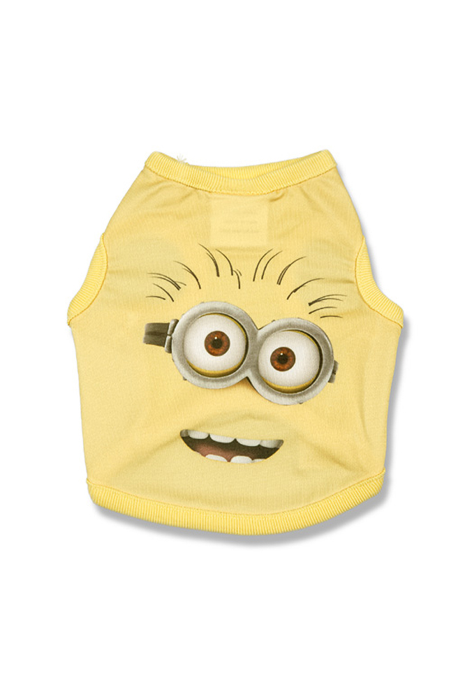 Image for Despicable Me Minion Big Face Pet T-Shirt from UNIVERSAL ORLANDO