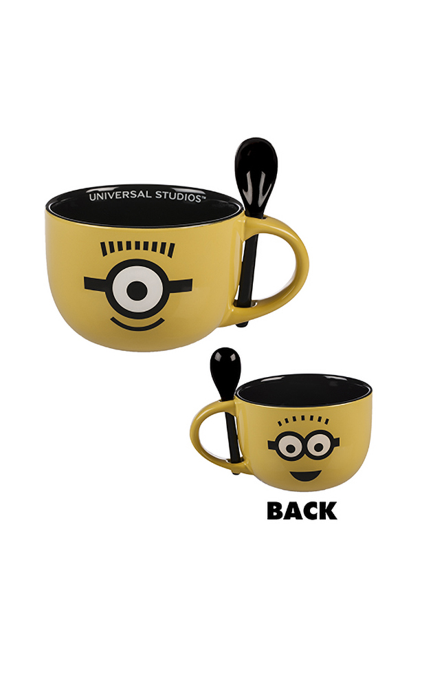 Image for Despicable Me Minion Spoon Mug from UNIVERSAL ORLANDO