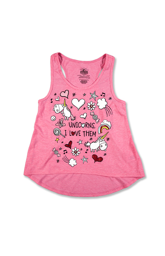 Image for Despicable Me Unicorns Youth Tank from UNIVERSAL ORLANDO
