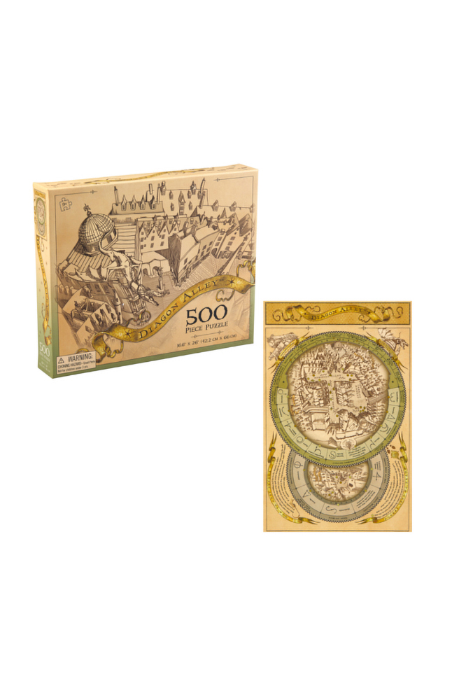 Image for Diagon Alley™ Map Puzzle from UNIVERSAL ORLANDO