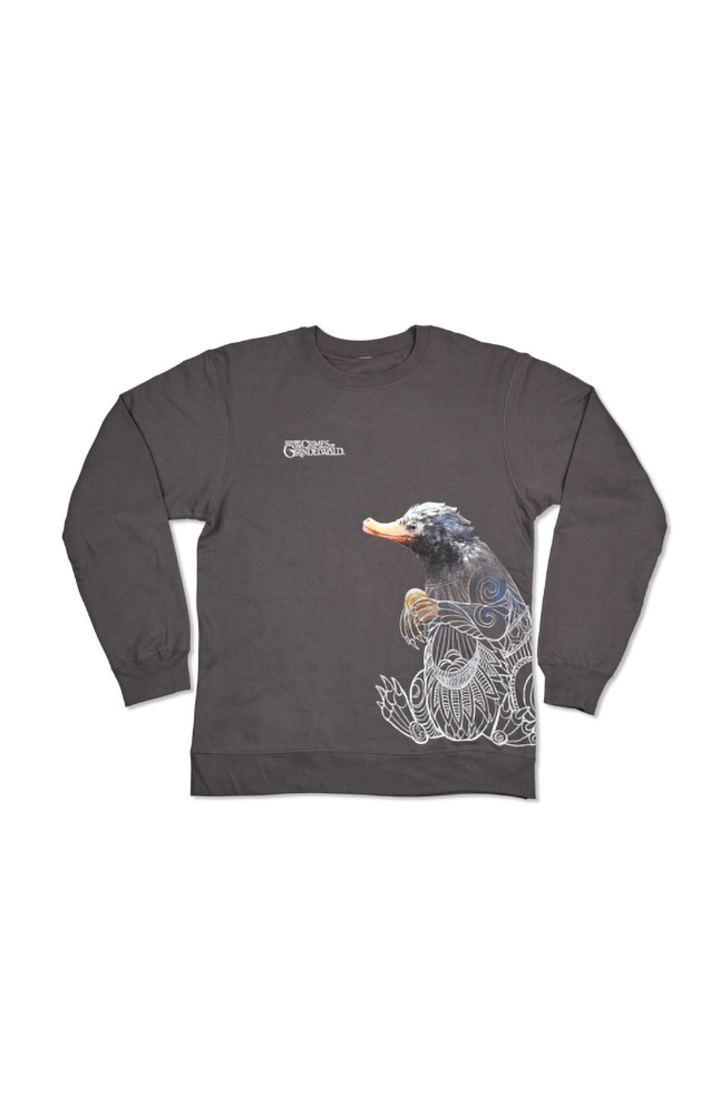 Image for Fantastic Beasts: The Crimes of Grindelwald™ Niffler Adult Sweatshirt from UNIVERSAL ORLANDO