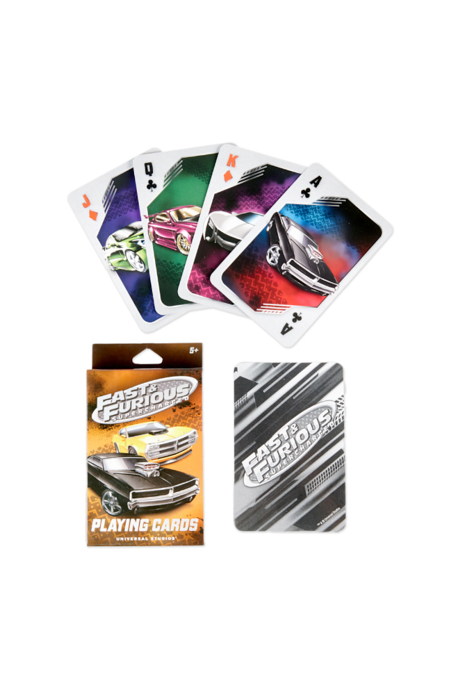 Image for Fast & Furious Playing Cards from UNIVERSAL ORLANDO