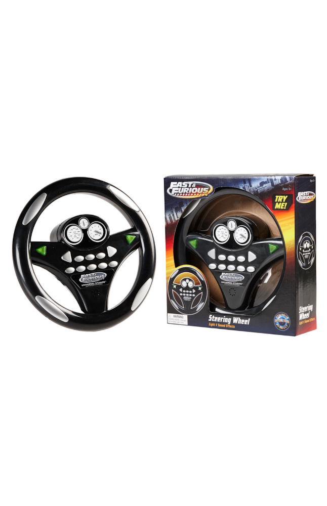 Image for Fast & Furious Steering Wheel from UNIVERSAL ORLANDO