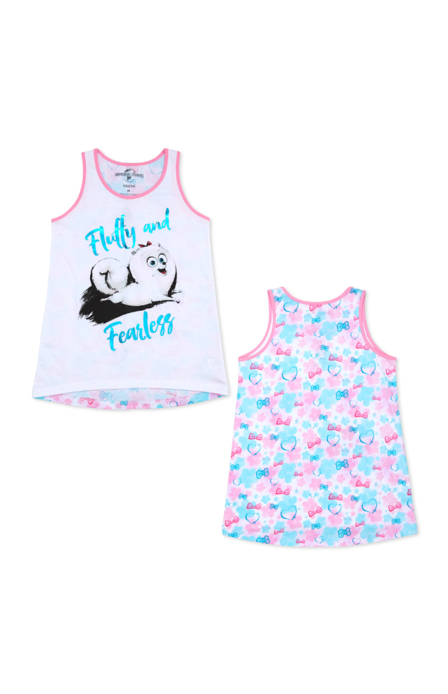 "Image for Gidget ""Fluffy and Fearless"" Youth Tank from UNIVERSAL ORLANDO"