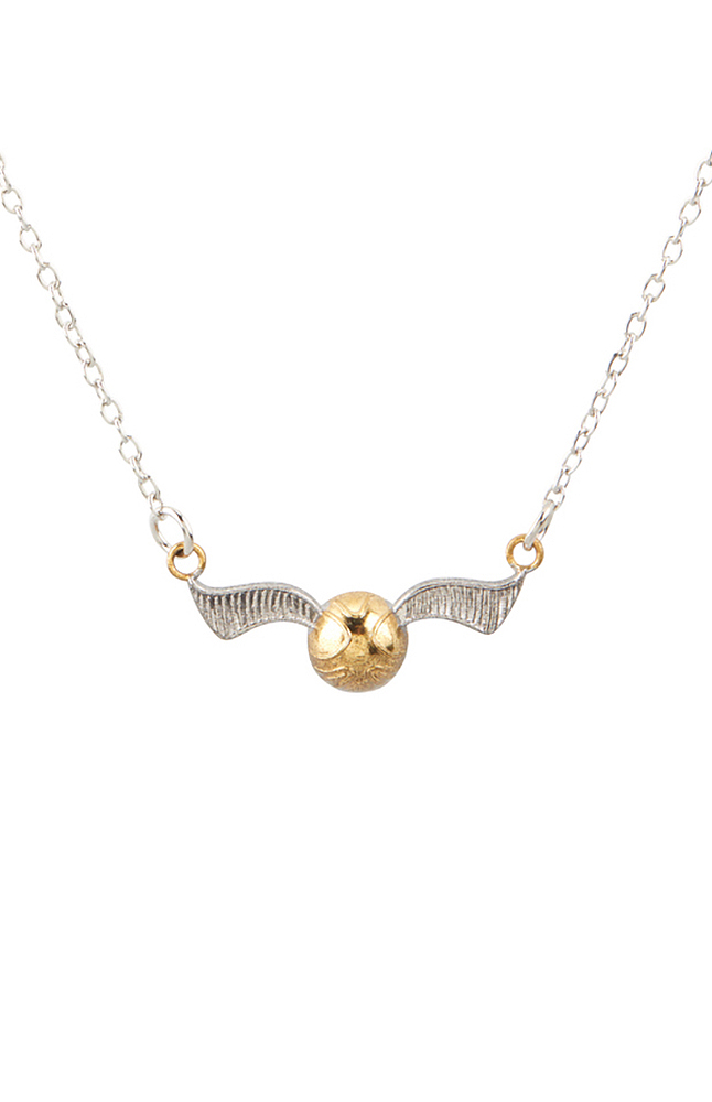 Image for Golden Snitch™ Pendant Necklace from UNIVERSAL ORLANDO