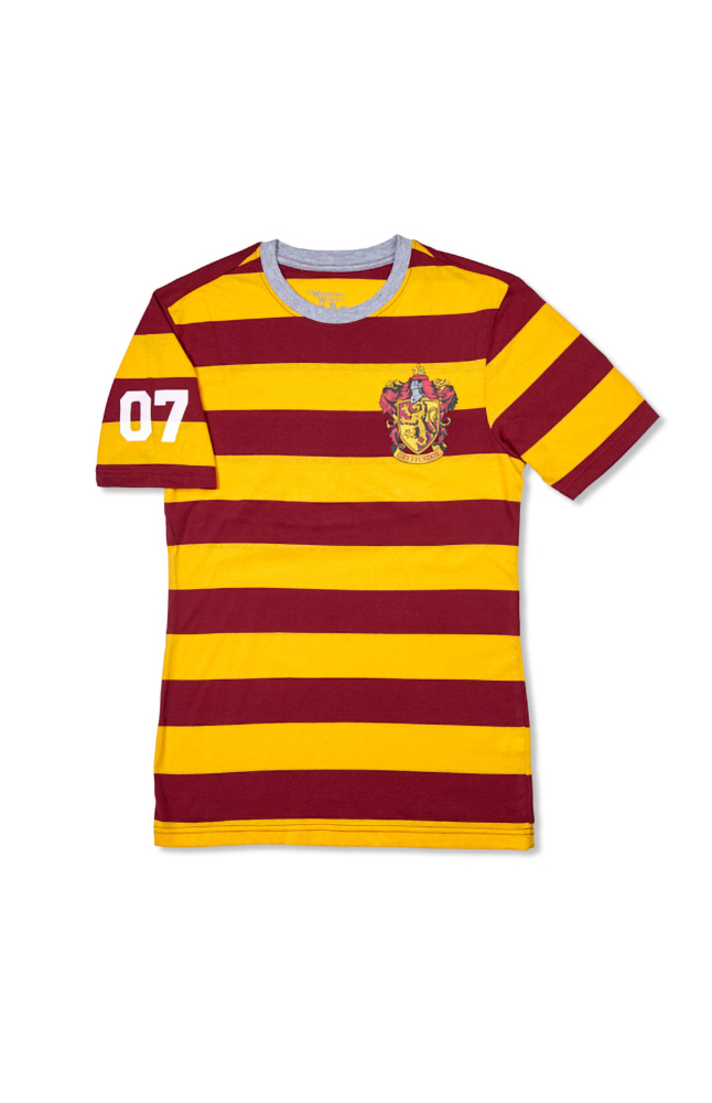 "Image for Gryffindor™ ""07"" Adult Striped T-Shirt from UNIVERSAL ORLANDO"