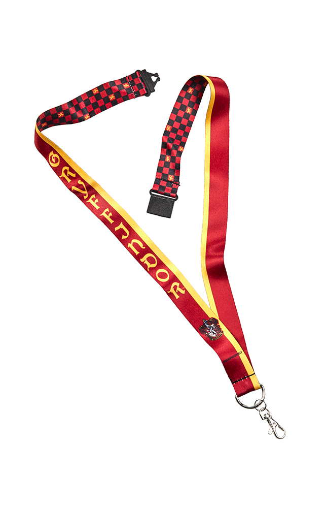 Image for Gryffindor™ Checkered Lanyard from UNIVERSAL ORLANDO