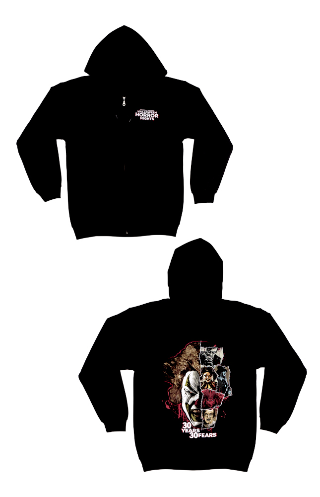 Image for Halloween Horror Nights 2021 Icons Adult Sweatshirt from UNIVERSAL ORLANDO