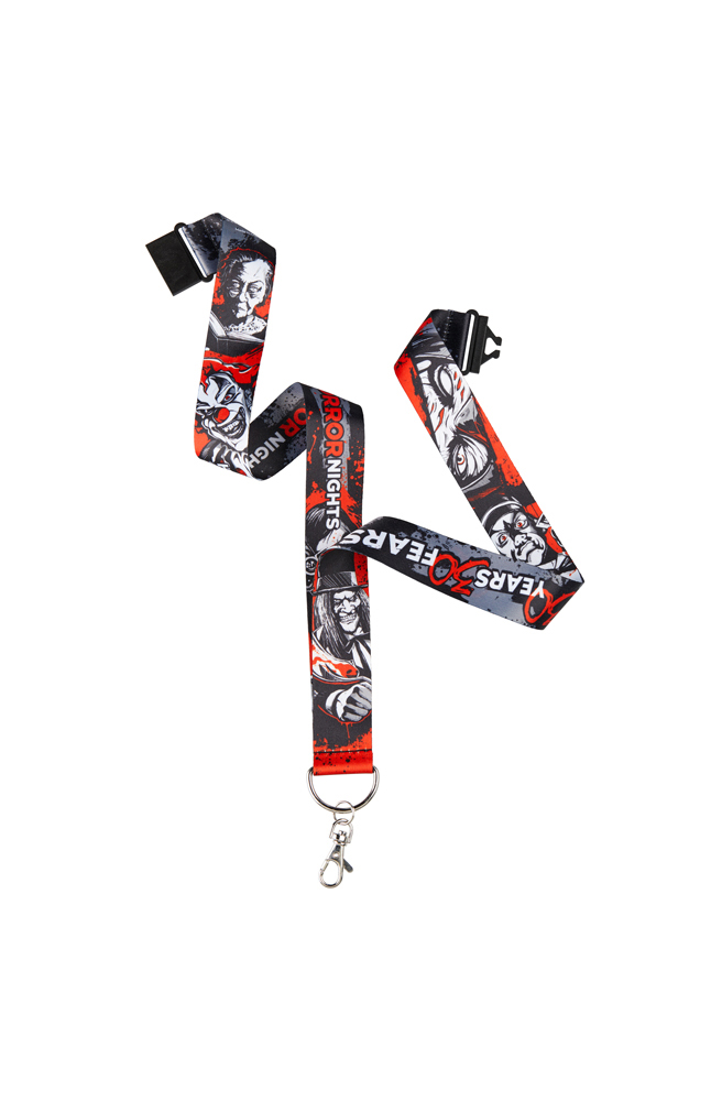 Image for Halloween Horror Nights Icons 30 Years 30 Fears Lanyard from UNIVERSAL ORLANDO