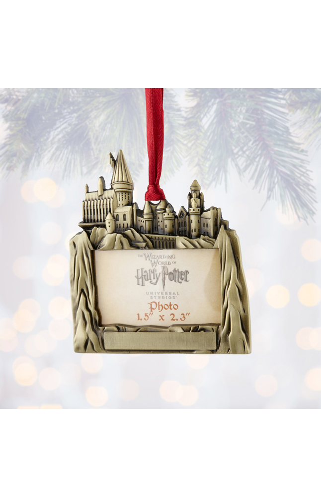Image for Hogwarts™ Castle Frame Ornament from UNIVERSAL ORLANDO