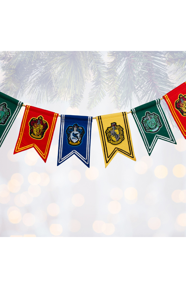 Image for Hogwarts™ House Pennant Garland from UNIVERSAL ORLANDO