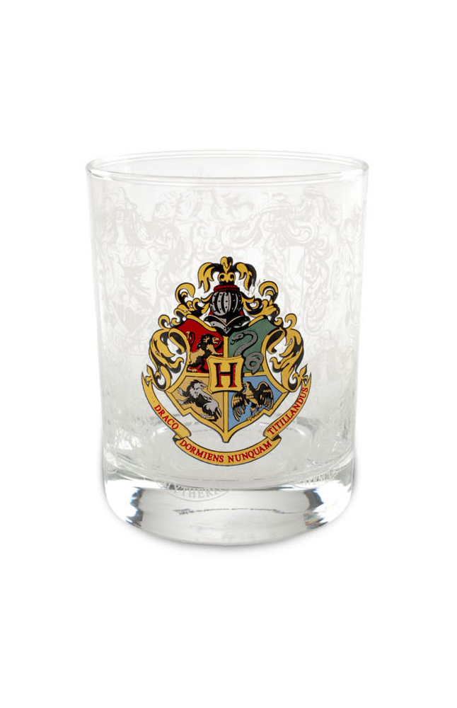 Image for Hogwarts Crest Double Old Fashioned Glass from UNIVERSAL ORLANDO