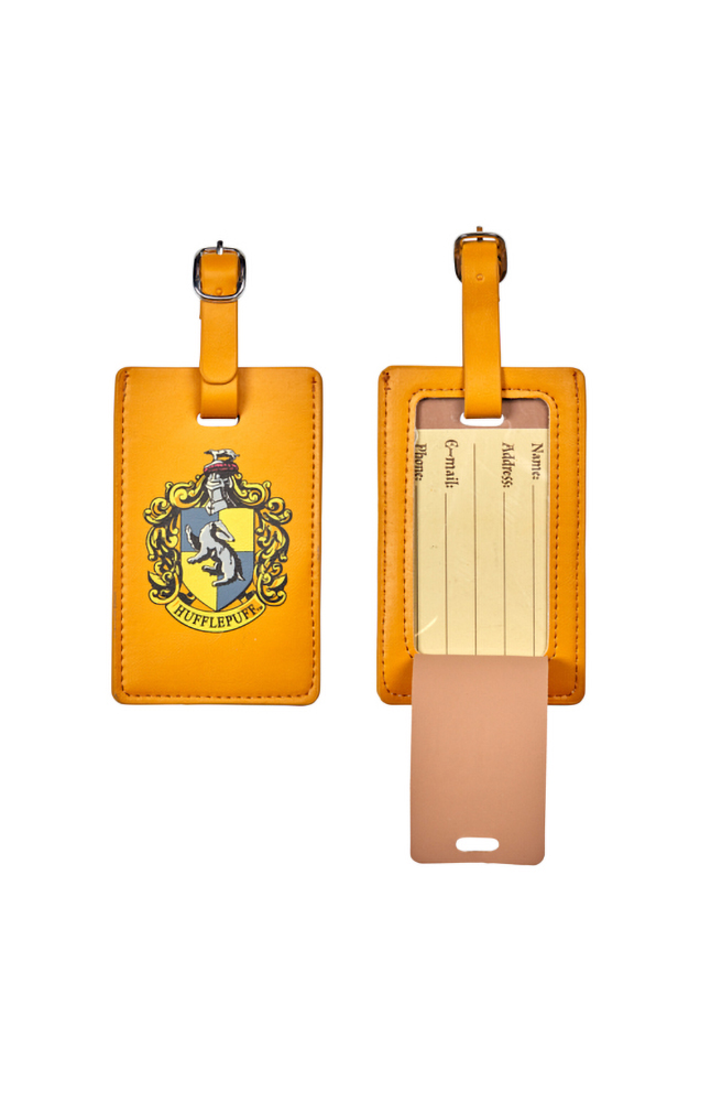 Image for Hufflepuff™ Crest Luggage Tag from UNIVERSAL ORLANDO