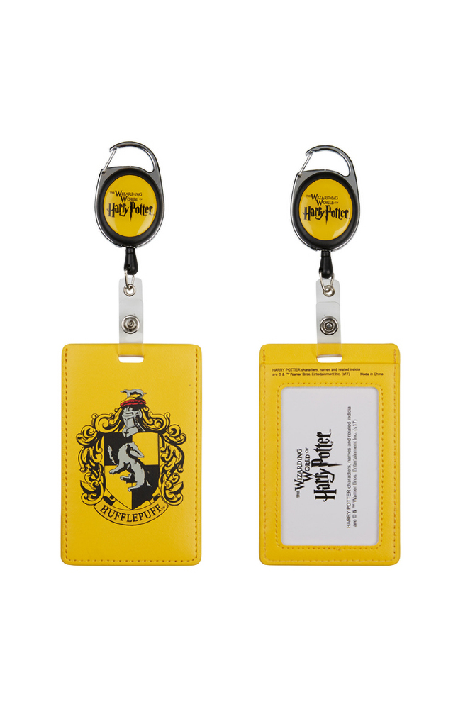 Image for Hufflepuff™ Retractable Badge Reel from UNIVERSAL ORLANDO