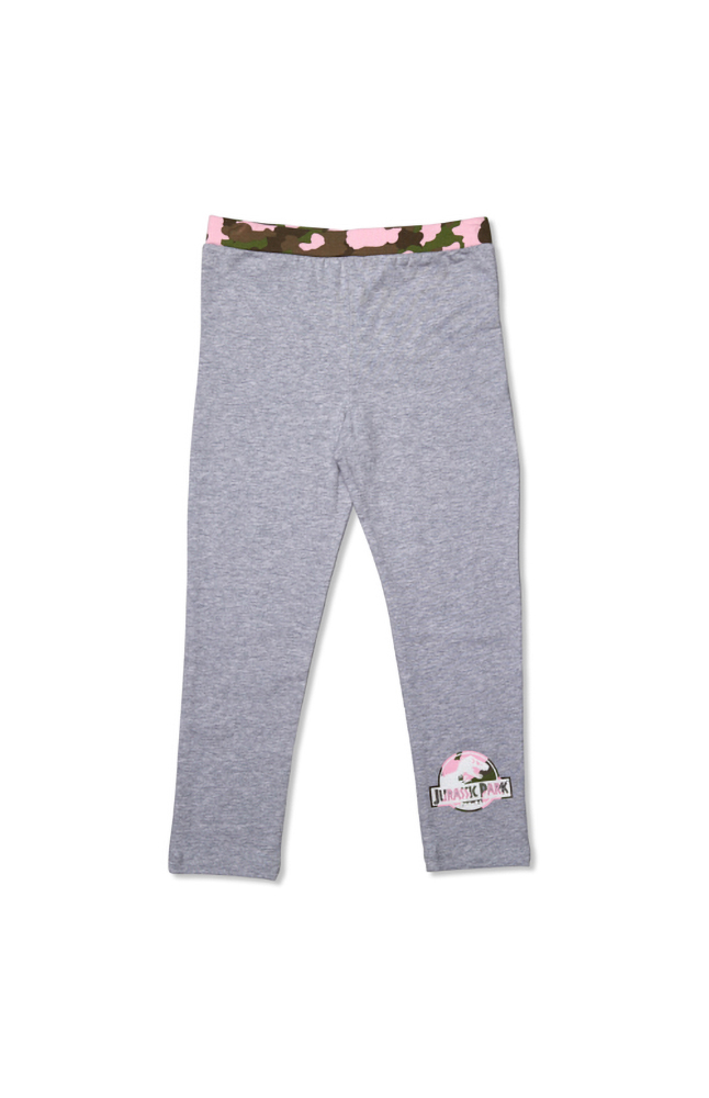 Image for Jurassic Park Camo Youth Leggings from UNIVERSAL ORLANDO