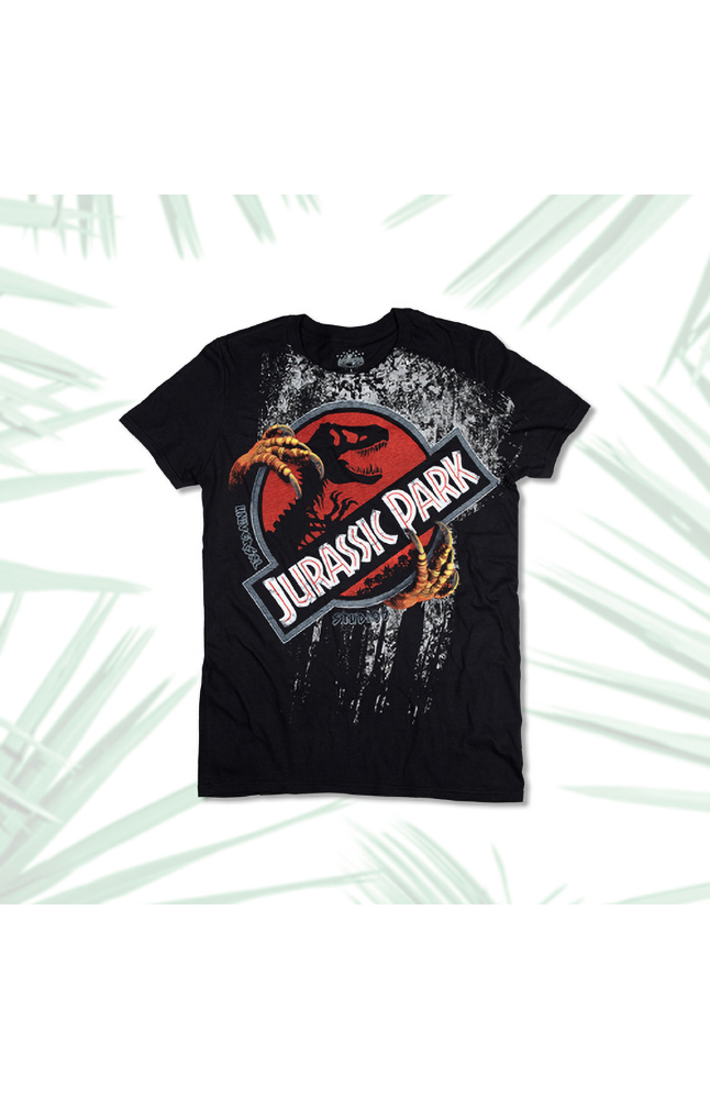 Image for Jurassic Park Claws Adult T-Shirt from UNIVERSAL ORLANDO
