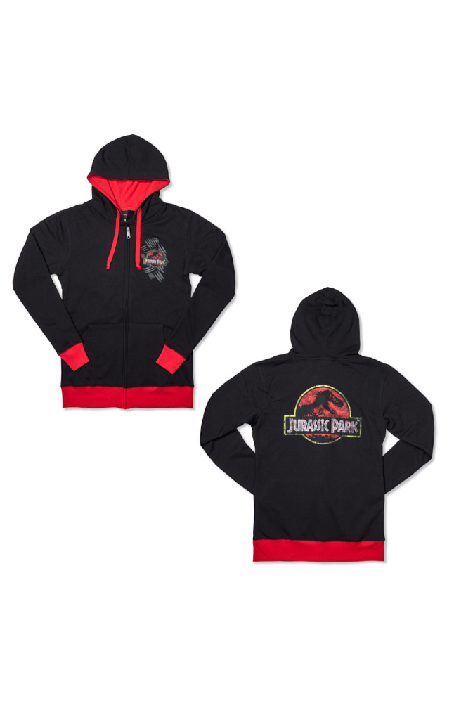 Image for Jurassic Park Ladies Hooded Sweatshirt from UNIVERSAL ORLANDO