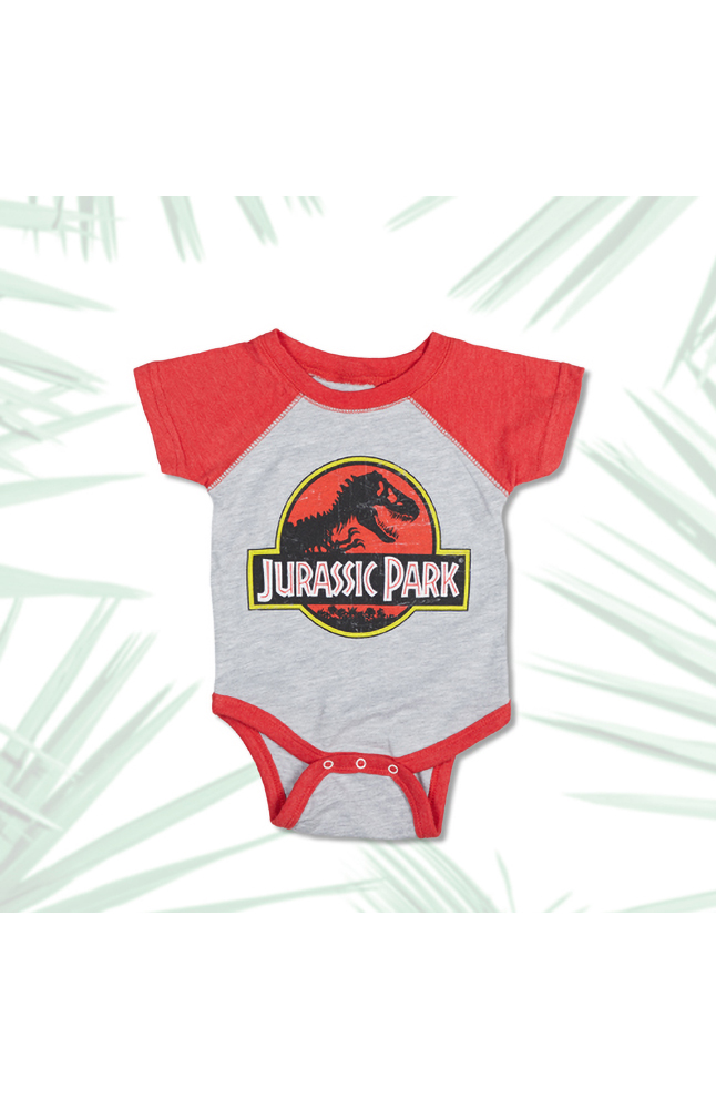 Image for Jurassic Park Logo Infant Bodysuit from UNIVERSAL ORLANDO