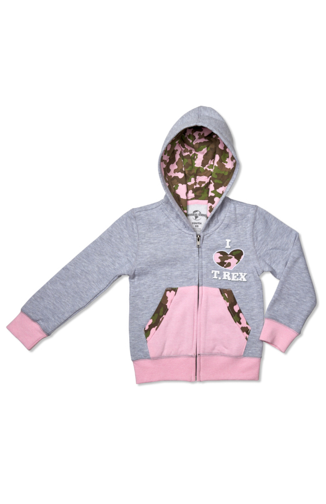 """Image for Jurassic Park """"T-Rex"""" Youth Hooded Sweatshirt from UNIVERSAL ORLANDO"""