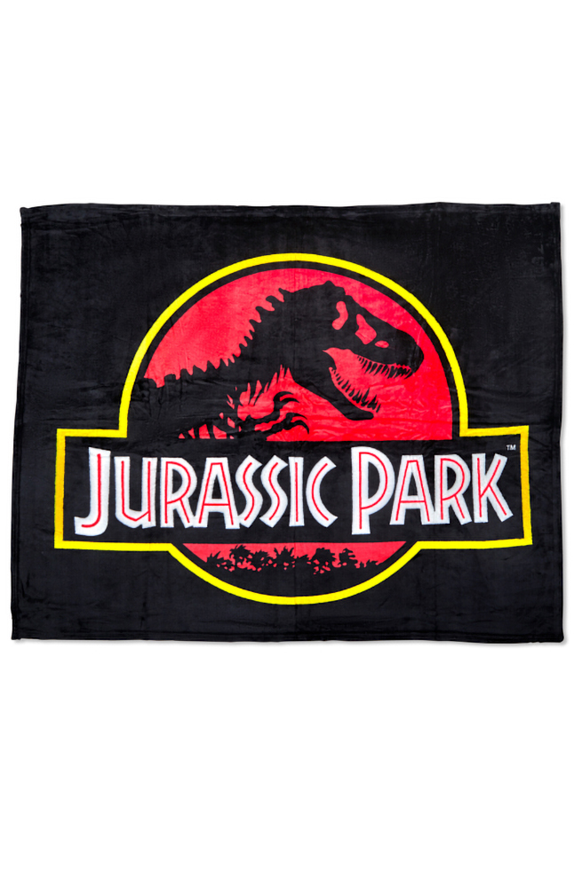 Image for Jurassic Park Throw Blanket from UNIVERSAL ORLANDO