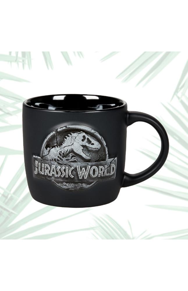 Image for Jurassic World Stone Logo Mug from UNIVERSAL ORLANDO