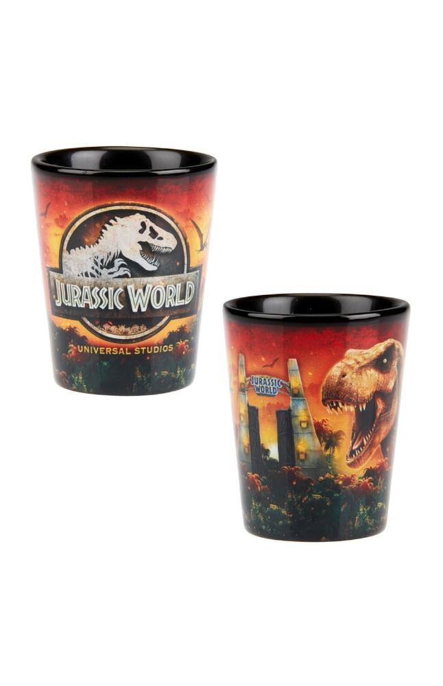 Image for Jurassic World Universal Studios Shot Glass from UNIVERSAL ORLANDO