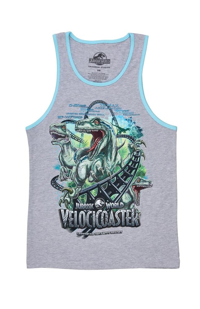 Image for Jurassic World VelociCoaster Adult Tank from UNIVERSAL ORLANDO
