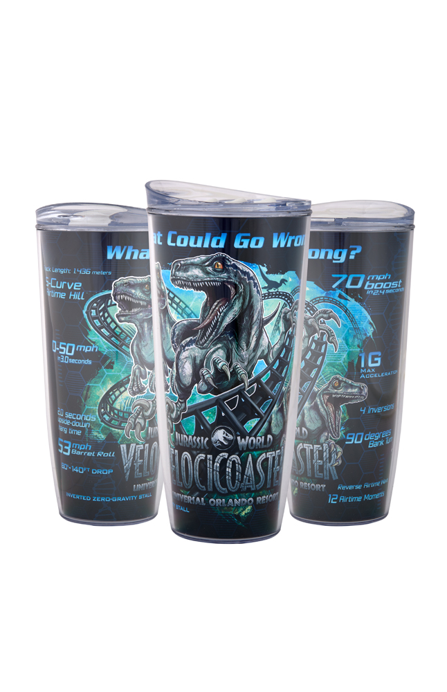 Image for Jurassic World VelociCoaster Coca-Cola Freestyle Tumbler from UNIVERSAL ORLANDO
