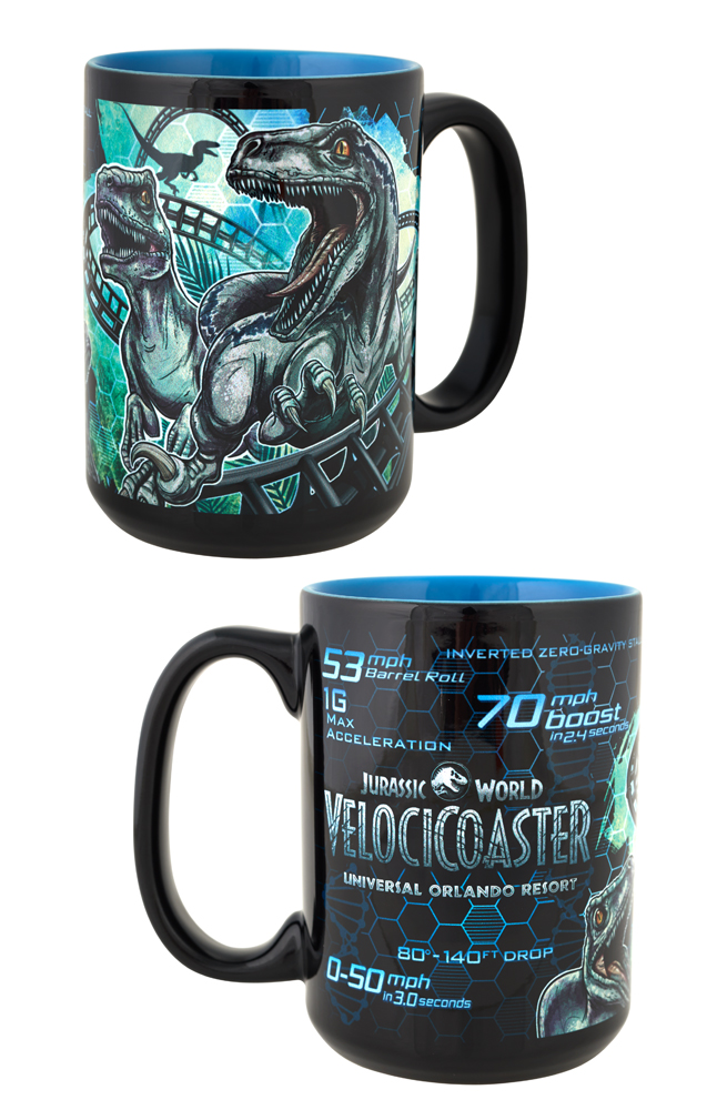 Image for Jurassic World VelociCoaster Mug from UNIVERSAL ORLANDO