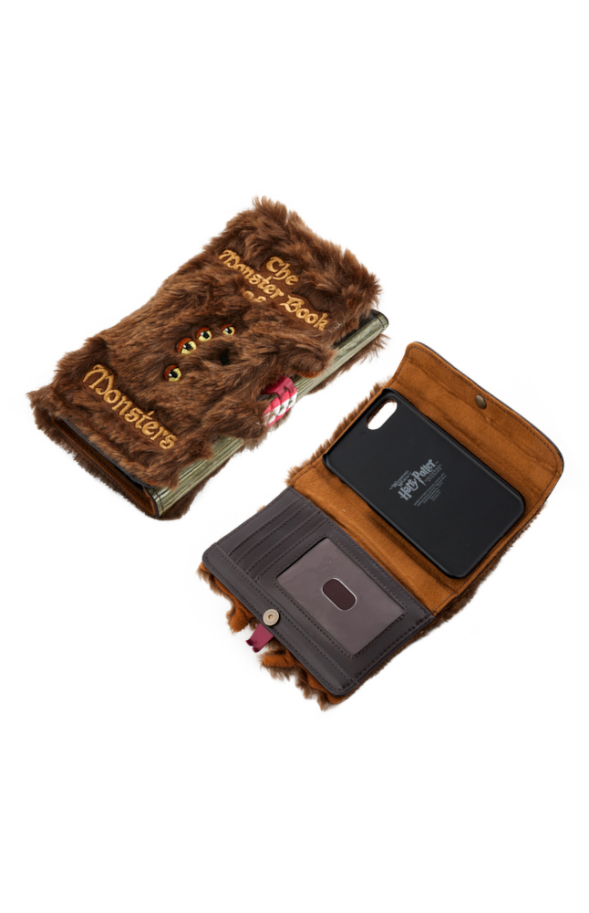 Image for Monster Book of Monsters Wallet Case for iPhone 6/7/8 from UNIVERSAL ORLANDO