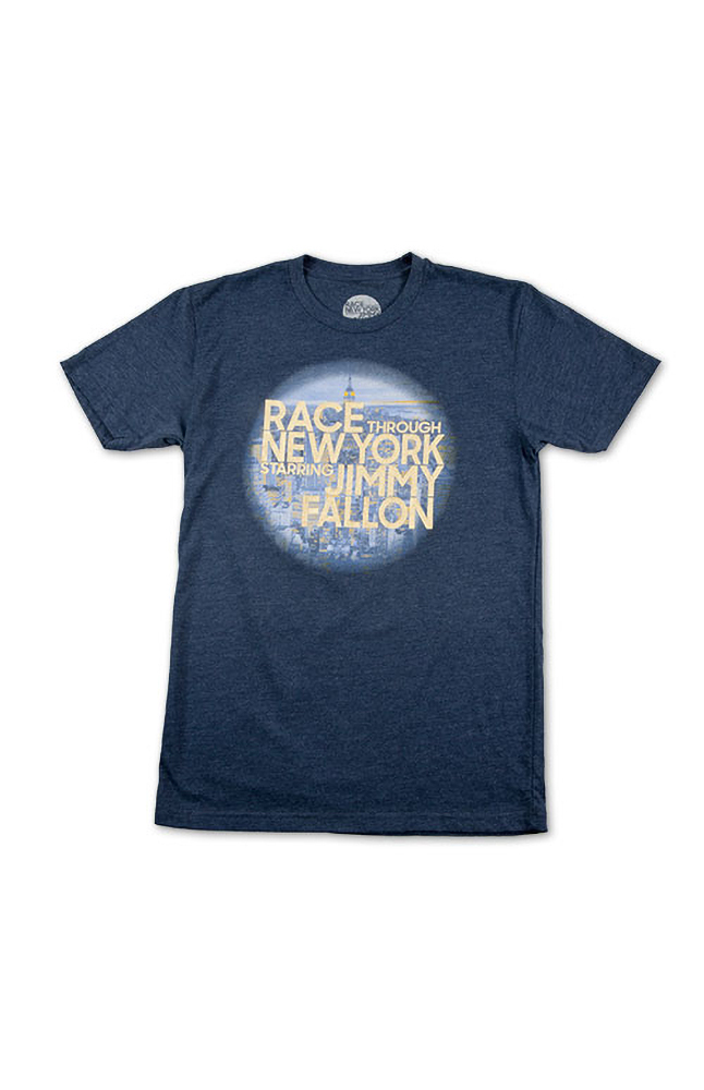 Image for Race Through New York Men's T-Shirt from UNIVERSAL ORLANDO