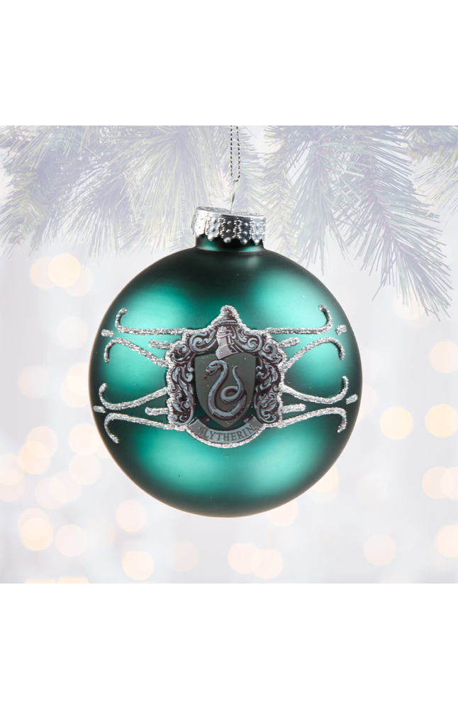 Image for Slytherin™ Ball Ornament from UNIVERSAL ORLANDO