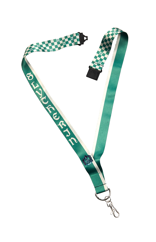 Image for Slytherin™ Checkered Lanyard from UNIVERSAL ORLANDO